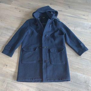 Wool Toggle Coat Size Medium/Large Petite